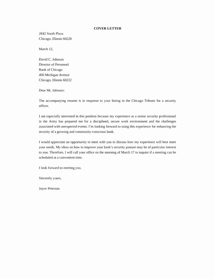 Security Officer Cover Letter Sample Best Of Senior Security Ficer Cover Letter Samples And Templates Cover Letter Sample Job Cover Letter Security Officer Security officer cover letters