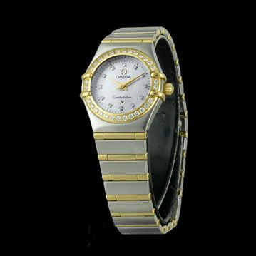 OMEGA - Constellation Lady Diamants, cresus montres de luxe d'occasion, http://www.cresus.fr/montres/montre-occasion-omega-constellation_lady_diamants,r2,p22745.html