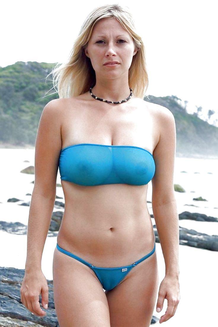 Hot bikini milfs
