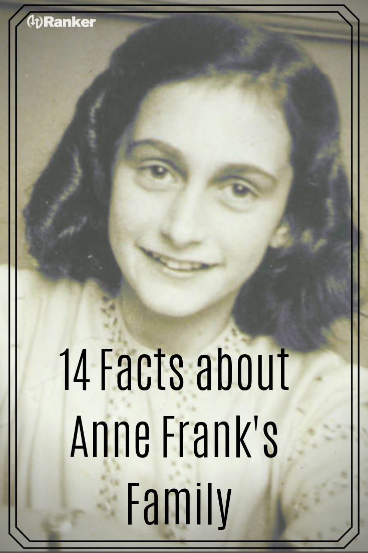 Fascinating Things Most People Don T Know About Anne Frank S