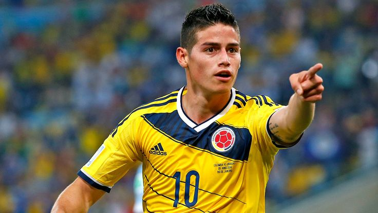 Colombia - James Rodriguez www.bettingrunner.com