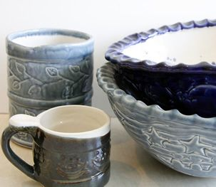 Ceramics from L'Arche Daybreak