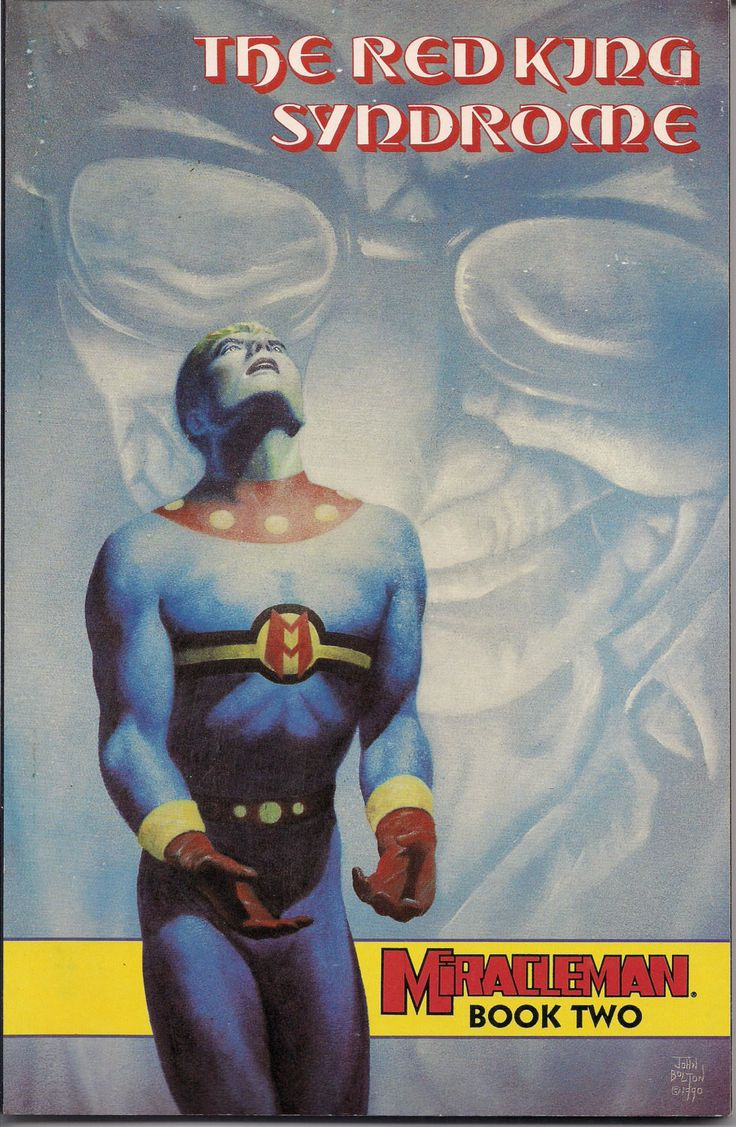 MIRACLEMAN, The Red King Syndrome,Book Two,Paperback,Collection,Alan Moore,Alan Davis,John Ridgway,Chuck Beckum,Rick Veitch,Rick Bryant