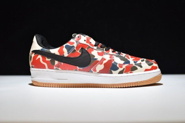 Hot Selling Nike Air Force 1 Low Reflective Camo 3m Gum 718152 201
