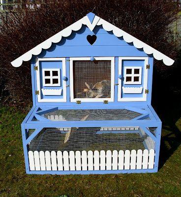 Mejores 22 im genes de casas para conejos en pinterest - Casas para conejos enanos ...