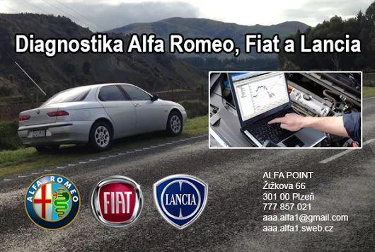 Diagnostika Alfa Romeo v Plzni