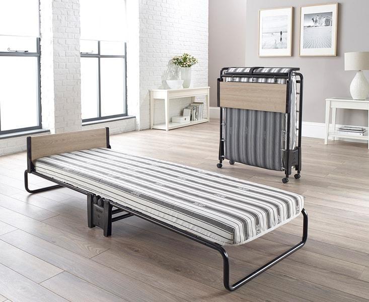 Revolution Single Folding Guest Bed & Airflow Fibre Mattress