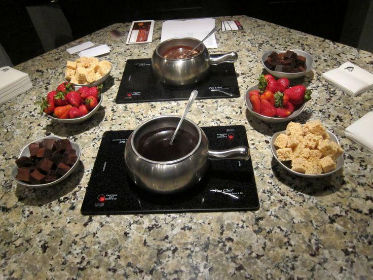 Melting Pot fondue restaurant...I LOVE THIS PLACE!