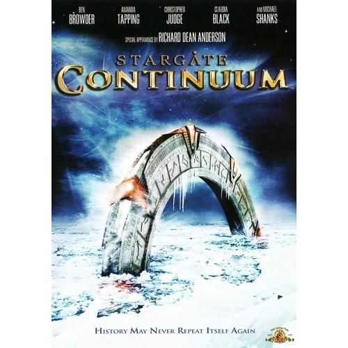 Discounted: Stargate: Continuum (DVD, 2008) #Movies