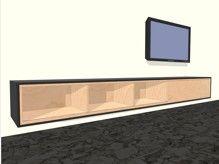 tv meubel hangend zwevend penelope muebles colgando tv gabinete de tv ...