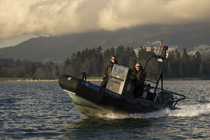 VPD Marine Unit patrolling waters of English Bay