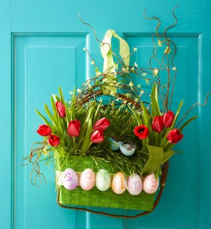 Add spring cheer to your front door with our DIY seasonal containers and wreaths. [Midwest Living]