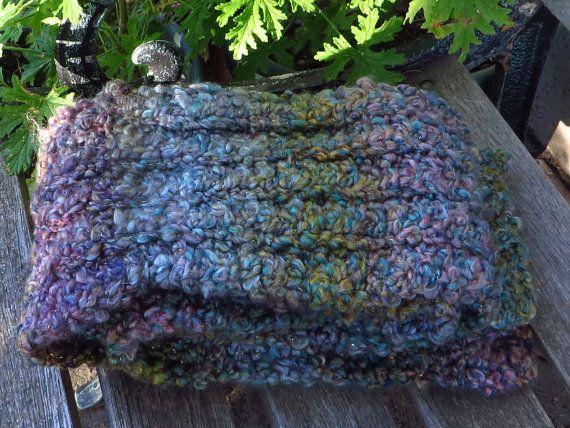Multicolored pastel scarf