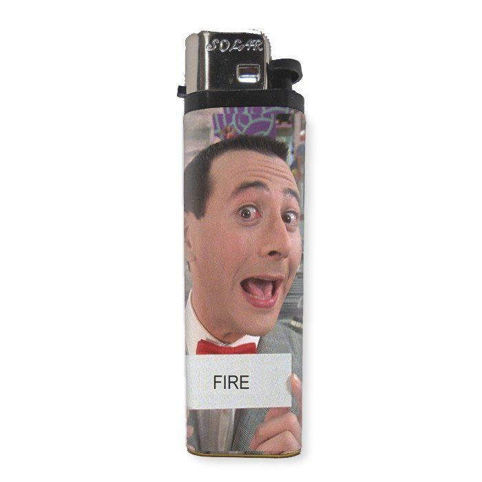 Pee Wee Herman Lighter