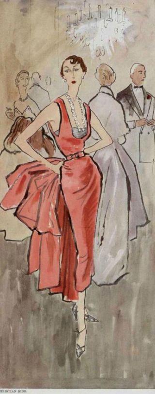 Fashion christian dior 1940s