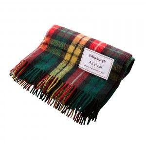 Vlněná deka - Buchanan tartan