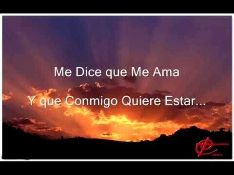 Jesús adrián romero..me dice que me ama...
