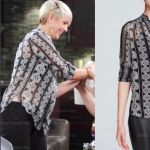 Days of Our Lives Fashion: Get Nicole Walker's Harlow Love Knot Silk Blouse – Arianne Zucker's Style!