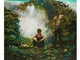 Matthew Hindley - Bromance, oil on canvas on MutualArt.com