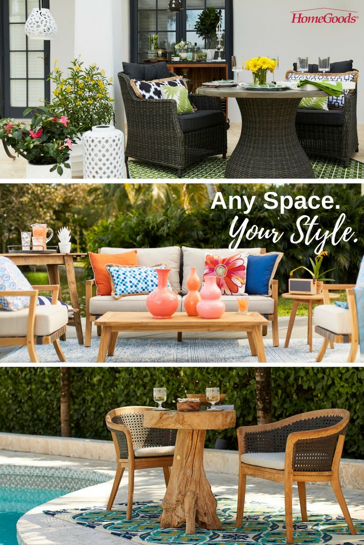 Decorate your outdoor living spaces this spring