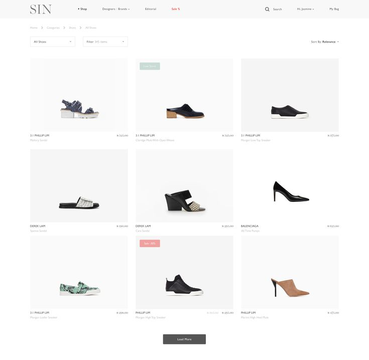 E-commerce Shoes
