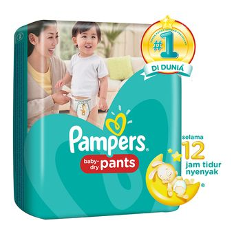 Pampers Popok Baby Dry Pants - L 26