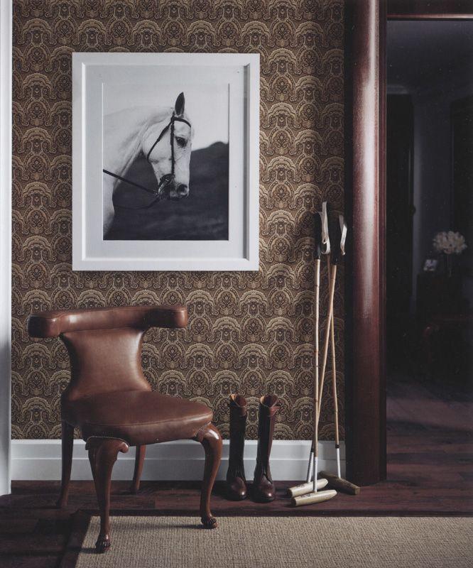 Crayford Paisley Sepia från Ralph Lauren