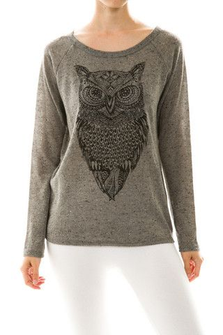 Owl of Grey – edc clothing Find it @ http://www.edcclothingboutique.com/