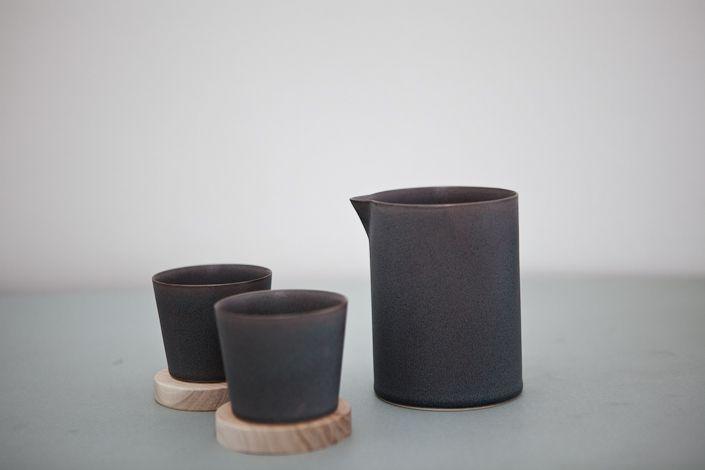 yumiko iihoshi porcelain utage tool set gray