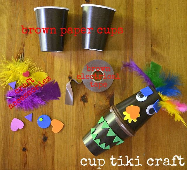 tiki cup craft