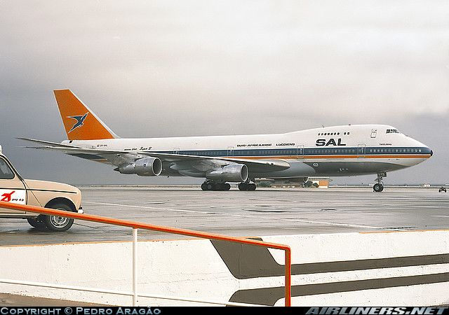 SAA South African Airlines B747-200