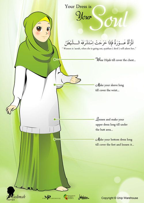 Simple Islamic Dress Code
