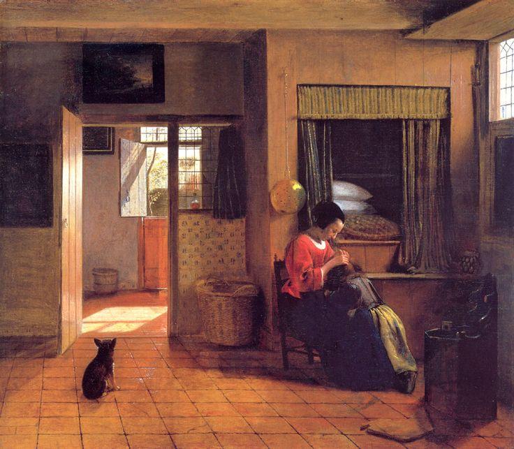 pieter de Hooch 1629 1684  (peintre Hollandais )  1658 /60
