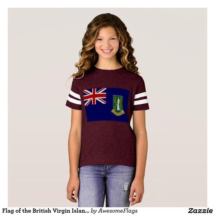 Flag of the British Virgin Islands T-Shirt