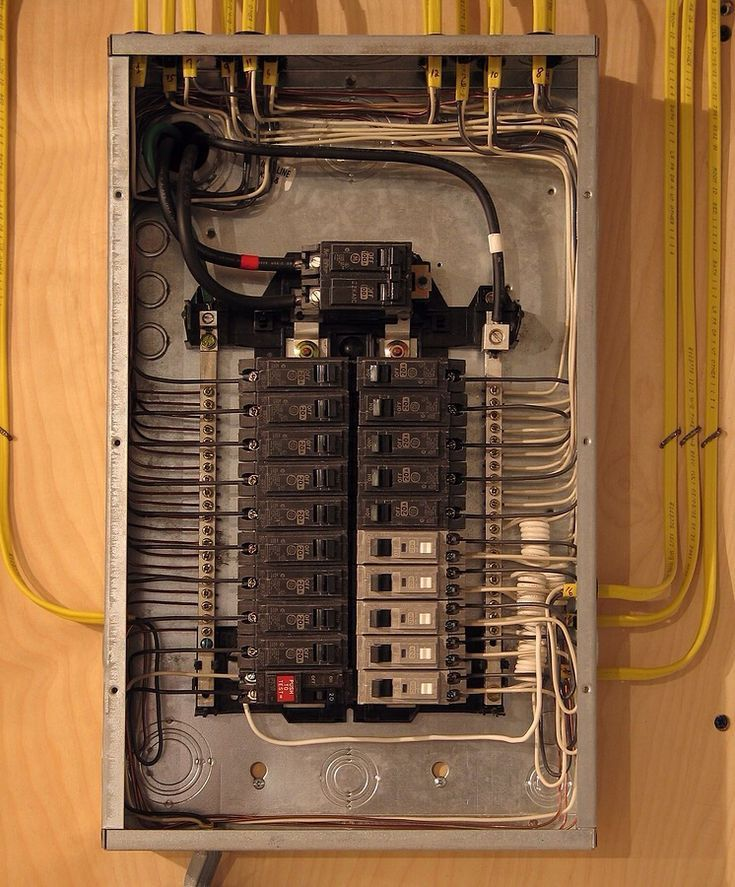 Now That S One Neat Electrical Panel In 2019 Electrical Panel Wiring Home Electrical Electrical Panel Wiring Home Electrical Wiring Electrical Panel