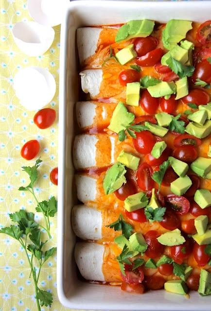 ValSoCal: Breakfast Enchiladas