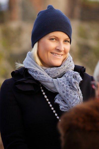 La princesse Mette Marit a participé à une commémoration en l'honneur de l'Holocauste
