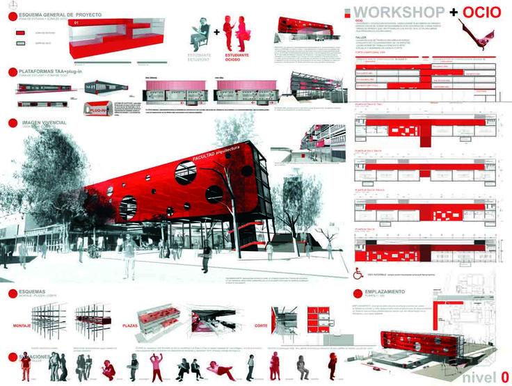 2006   concurso plataforma enseñanza   escuela de arquitectura usach.  alarcon   luengo   diaz   mancilla  2°premio     2006   con...