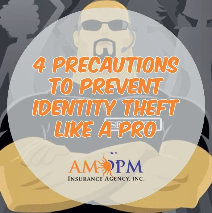 Identity theft is no joke! Check out our NEW blog post and let us know if you've tried these out. @ampminsurance