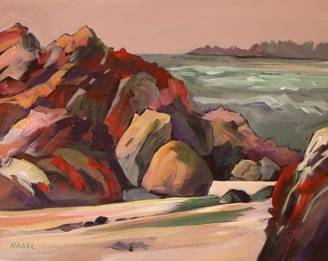 Red Rocks, 2010 by Marie Nagel - marienagel.com