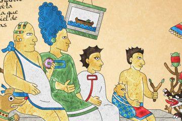 Los simpson en codices prehispanicos