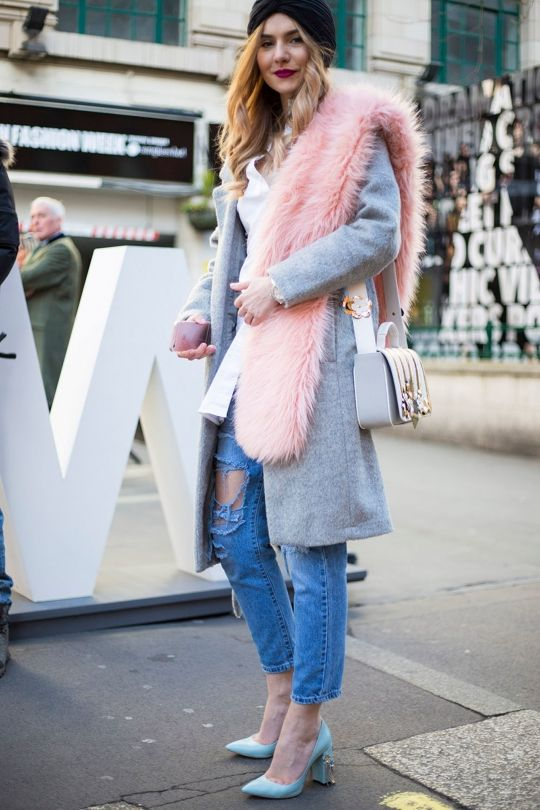 Street Style From London Fashion Week Autumn Winter 16 17 In Pinterest Semanas De La
