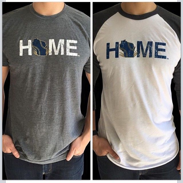 We've been so excited about #Blackhawks #hockey & the #KentuckyDerby, that we dropped our #baseball for a bit. We're still excited about the #Milwaukee @brewers! ❤️ If you're near our friends at @littlemoretwigs in De Pere, #Wisconsin, you'll find these #tshirts! Or, hop over to mystatethreads.com & grab your favorite from other teams... #mystatethreads #mke #brewers  https://instagram.com/p/2GuTZVucrT