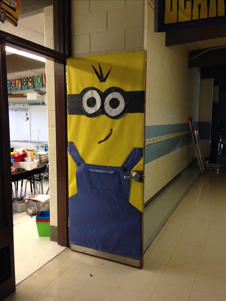 Minion Classroom Decoration Ideas ~ Ideas about minion door on pinterest