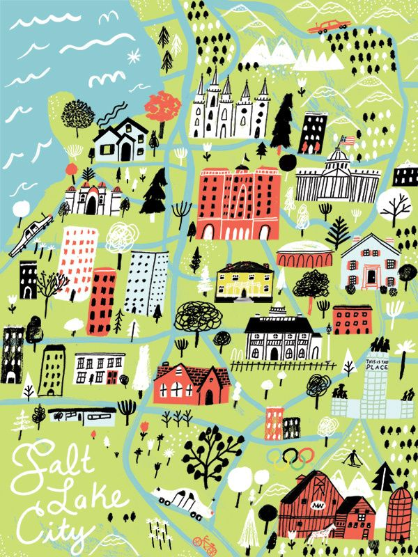 Jordan Sondler  - Salt Lake City map