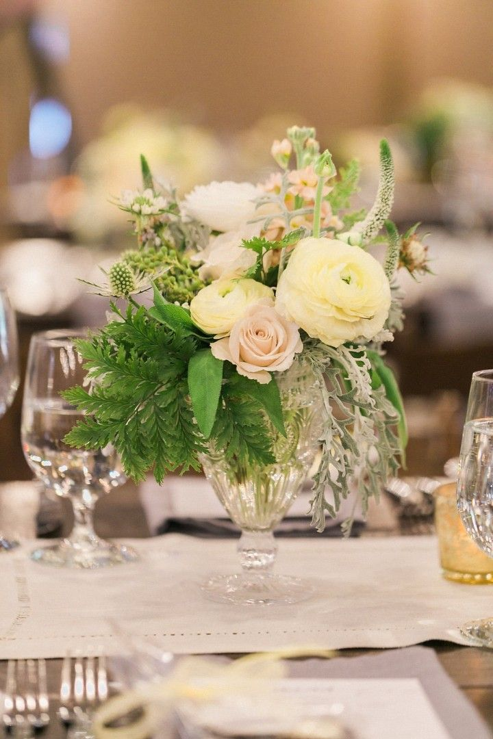 wedding centerpiece idea; photo: Maria Schwaller