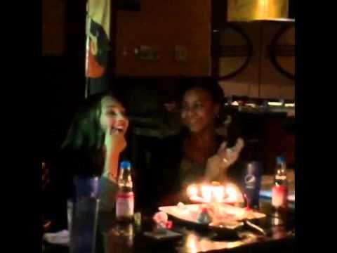 Maddie Ziegler Having Fun At Her Birthday Dinner! - YouTube