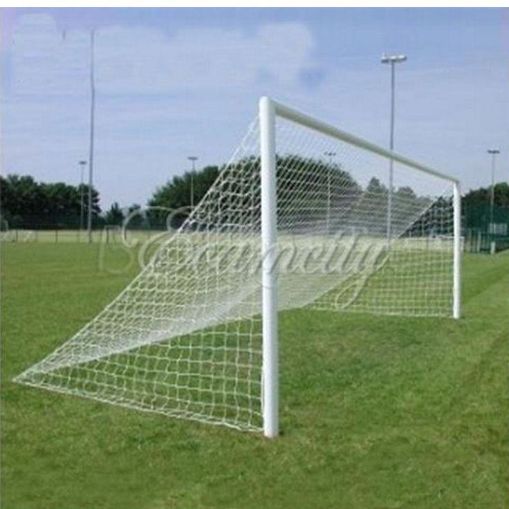 44.53$  Watch now - http://ali6zc.worldwells.pw/go.php?t=32754846493 - Durable 7.3x2.4m Football Soccer Goal Net 24x 8ft Full Size Polypropylene Fiber Football necessity Sports Match Training 44.53$