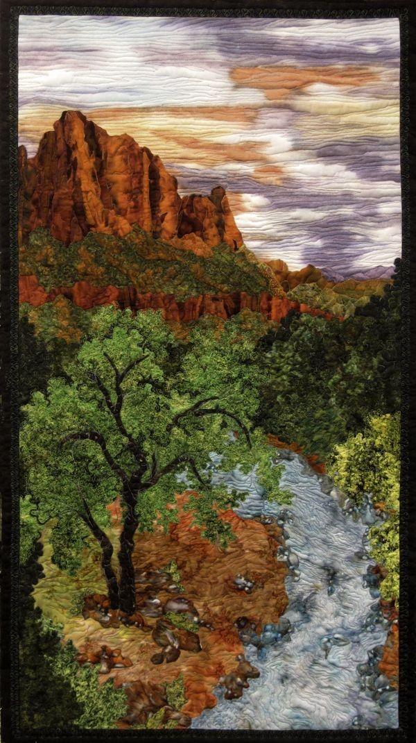 Image Result For Landscape Quilt Fabric Wallhanging Landscape Art Quilts Landscape Quilts Landscape Quilt