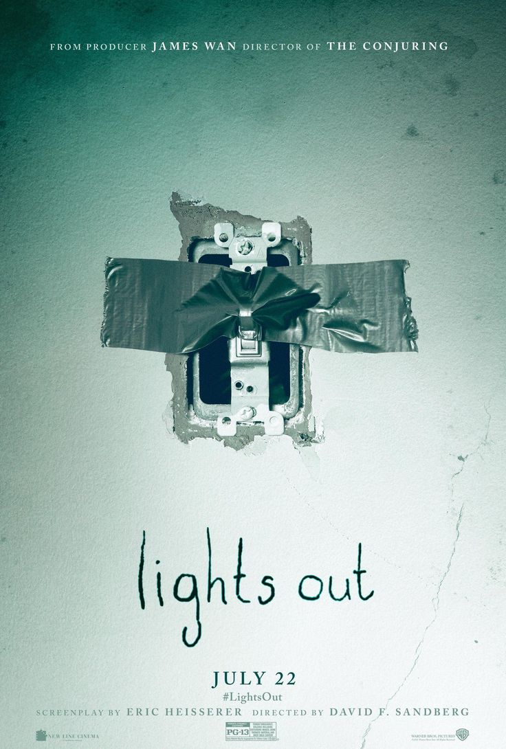 Lights Out (2016)  I liked the feel of this film but the acting was a bit dodgy and the storyline had so many plot holes in it it just ruined it for me